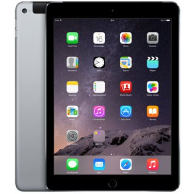 Планшет Apple iPad Air 2 128Gb Wi-Fi + Cellular (Space Gray) MGWL2RU/A