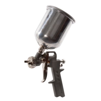 Краскопульт Quattro Elementi пневматический с верхним бачком 600 мл, сопло 1,5 мм, разъем EURO, 770-810