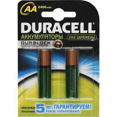 ��������� Duracell �������������� HR6-2BL 2450mAh/2400mAh 2��