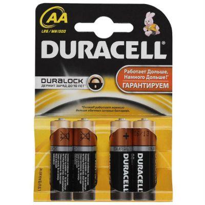 ��������� Duracell Basic LR6-4BL AA