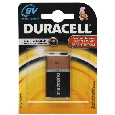 Батарейки Duracell 6LR61-1BL Basic 9V 1шт