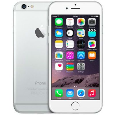 Смартфон Apple iPhone 6 128Gb Silver MG4C2RU/A