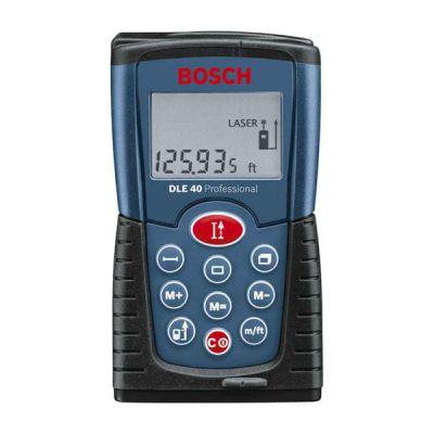 Дальномер Bosch лазерный DLE 40 0601016300 (0,05-40 м, точн.1,5 мм/30 м, 0,18 кг, сумка)