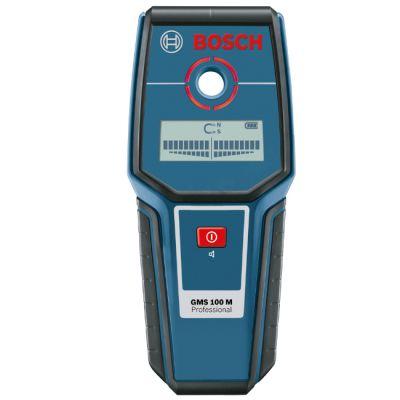 Металлоискатель Bosch GMS 100 0601081100 (глуб.черн.мет.100 мм, медь 80 мм, 0,26 кг)
