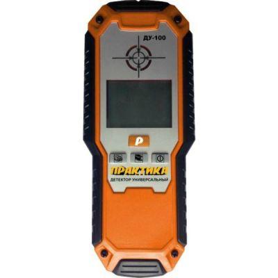 Металлоискатель Практика ДУ-100 779-448 обнаружение сталь 100 мм, медь 80 мм, под напряжением 50 мм, дерево 20 мм