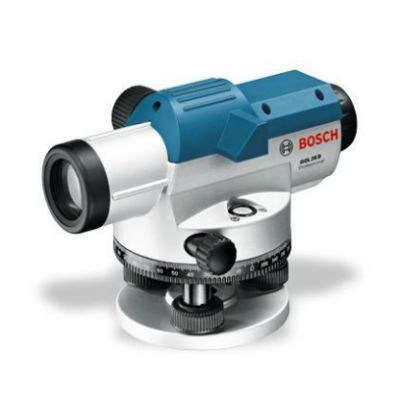 Нивелир Bosch оптический GOL 26 D 0601068000 ( до 100 м, увелич.26x, точн.1,6 мм/30 мм, объектив 36 мм, 1,7 кг, кейс)