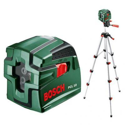 Нивелир Bosch лазерный линейный PCL 10 SET 0603008121