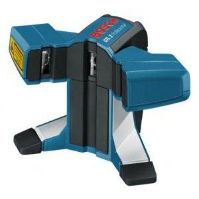 Нивелир Bosch лазерный линейный GTL 3 0601015200 для укладки плитки (3 линии, 20 м, точн. 0,2 мм/м, 0,5 кг, чехол)