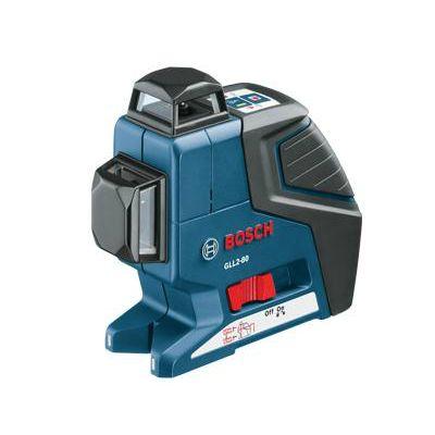 Нивелир Bosch лазерный линейный GLL 2-80 0601063205 + штатив BS 150 (линейн, 2 плоск, 80 м, точн.0,3 мм/м, 0,68 кг, чехол)
