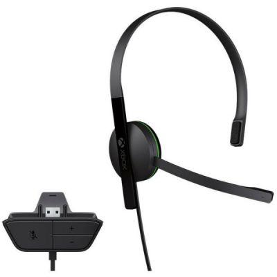 Гарнитура Microsoft проводная Xbox One Chat Headse S5V-00012
