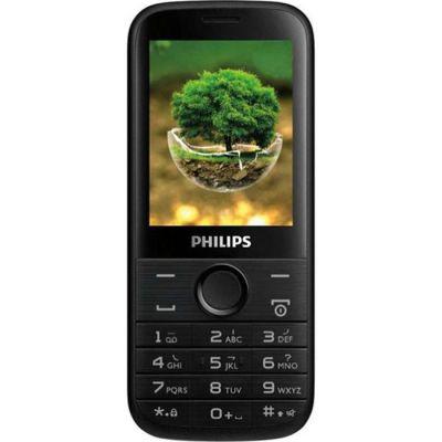 Телефон Philips E160 Black