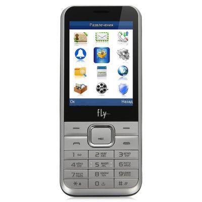 Телефон Fly DS133 Silver