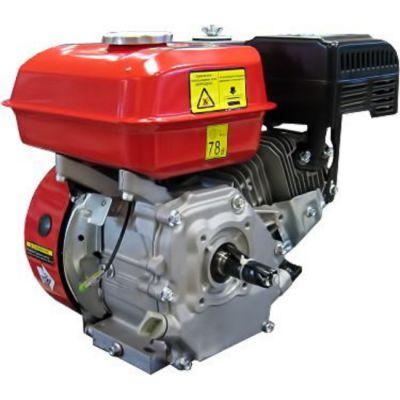 Двигатель DDE бензиновый четырехтактный 168F-Q19 (19.05 мм, 5.5 л.с., 163 куб.см., фильтр-картридж, датчик уровня масла)