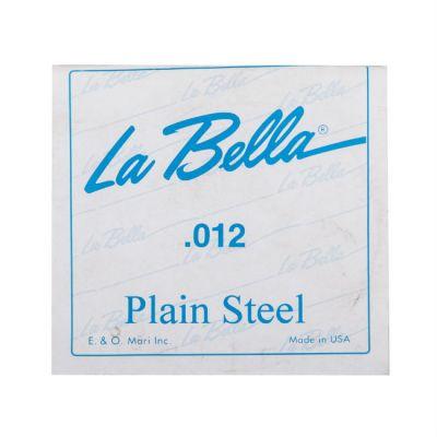 Струны La Bella PLAIN STEEL PS012