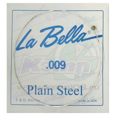 Струны La Bella PLAIN STEEL PS009