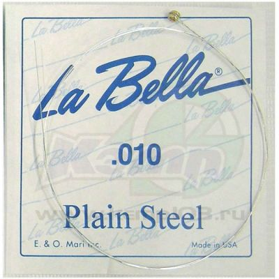 Струны La Bella PLAIN STEEL PS010