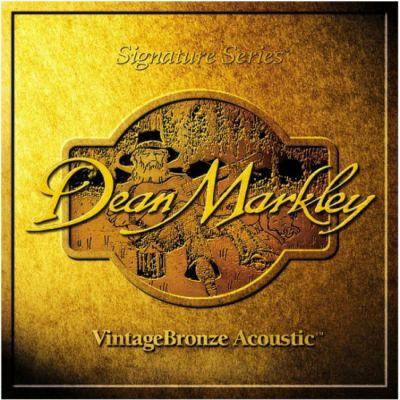 Струны Dean Markley 2008а VINTAGE BRONZE 014
