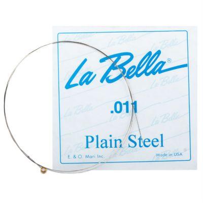 Струны La Bella PLAIN STEEL PS011