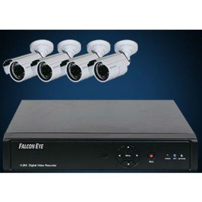 Комплект видеонаблюдения Falcon Eye 8-кан DVR + 4-е ул FE-0108D-KIT PRO 8.4