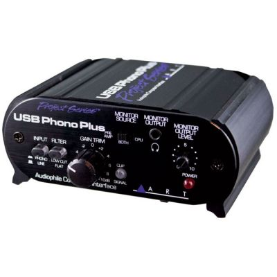 Предусилитель ART USB Phono Plus SP