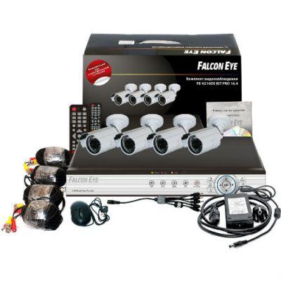 Комплект видеонаблюдения Falcon Eye 16-кан. DVR + 4 FE-0216DE-KIT PRO 16.4