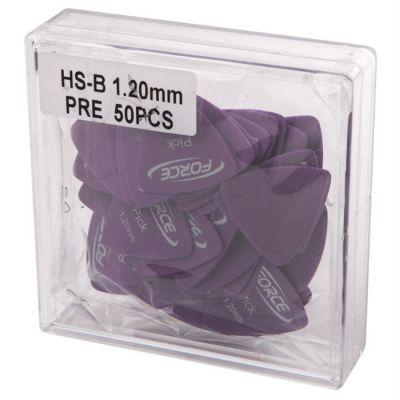 Медиатор Force комплект HS-B 1.20 PRE-50 (50 штук)