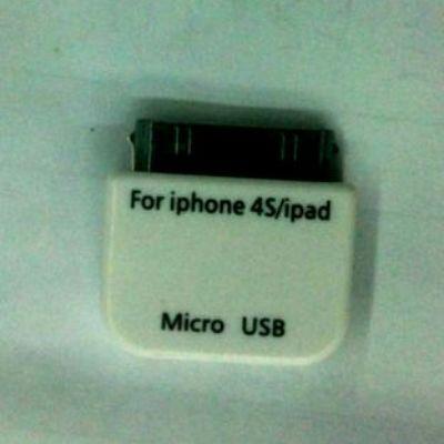 Адаптер Espada iPad/iPhone 30pin to micro USB BF EIPD-micUSBBF