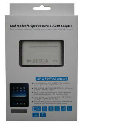 ������ Espada ���������+������������ iPad 30pin to HDMI/AV/microUSB/SD/MMC/MS/M2, C02Ip ESPADA