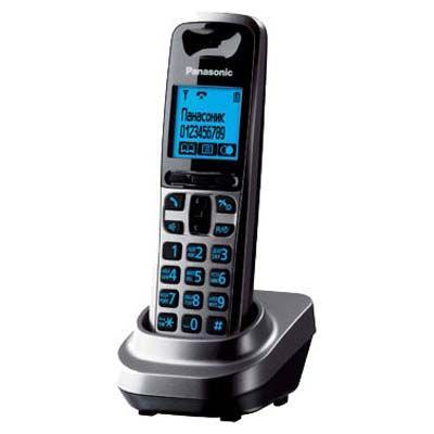 Телефон Panasonic Доп.Трубка KX-TGA641 (серый металлик)