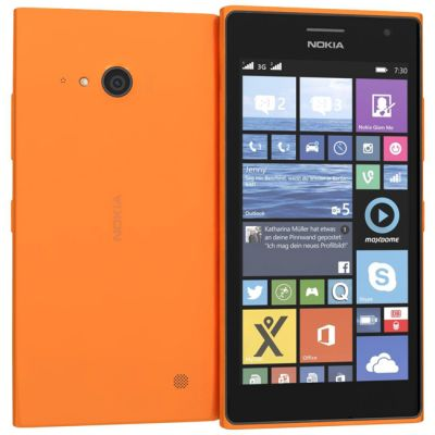 �������� Nokia Lumia 730 Dual Sim Orange A00021744 A00024254