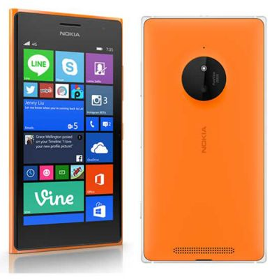 Смартфон Nokia Lumia 830 Orange