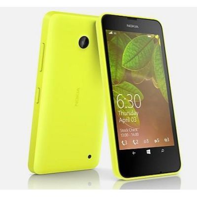 Смартфон Nokia Lumia 530 Dual Sim Yellow
