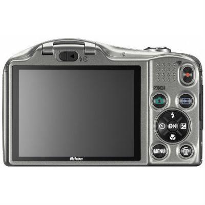 Компактный фотоаппарат Nikon Coolpix L610/Silver