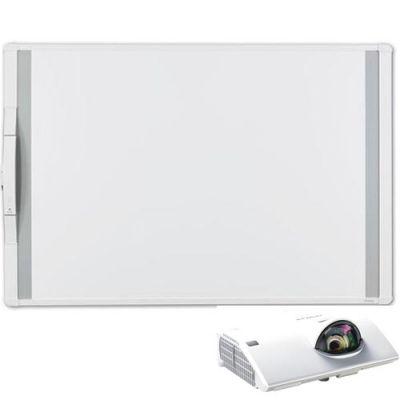 Интерактивная доска Hitachi Комплект интерактивная доска MimioBoard 78 + проектор CP-CX300WN