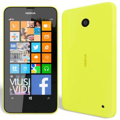 Смартфон Nokia Lumia 630 Dual Sim (желтый)