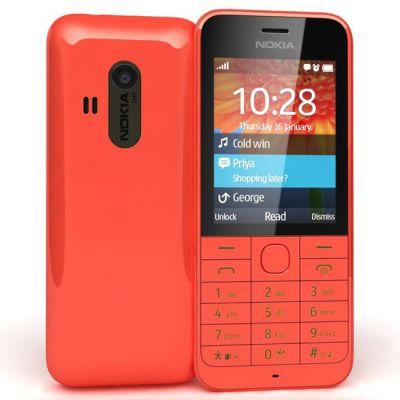 Телефон Nokia 220 Dual sim Red A00017588