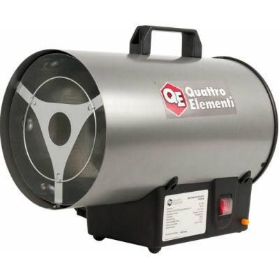 Тепловая пушка (газовая) Quattro Elementi QE-18G (18 кВт, 500 м.куб/ч, 1,3 кг/ч, режим вентилятора, 5 кг) 772-289