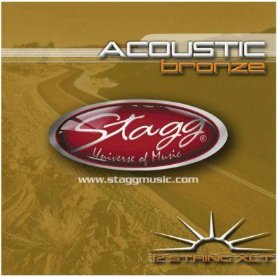 Струны Stagg AC-12ST-BR