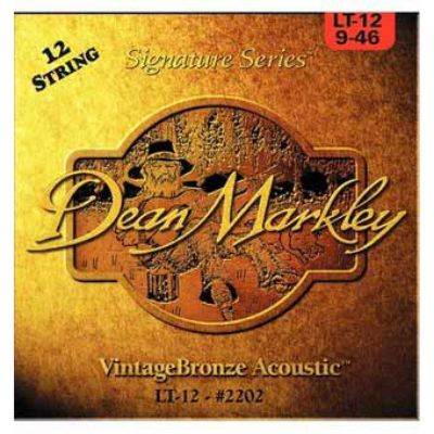Струны Dean Markley VINTAGE BRONZE 12-STRING 2206