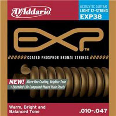 Струны D'Addario EXP38
