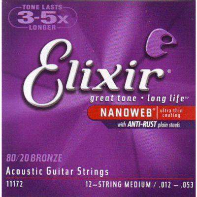 Струны Elixir 11172