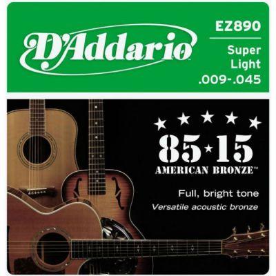 Струны D'Addario EZ890