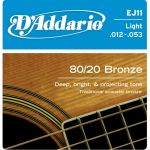 Струны D'Addario EJ11
