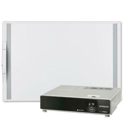 ������������� ����� Hitachi �������� ������������� ����� MimioBoard 78 + �������� CP-X1 (CP-X2)