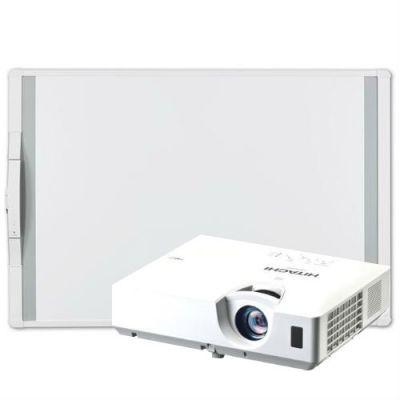 Интерактивная доска Hitachi Комплект интерактивная доска MimioBoard 78 + проектор CP-EX300N