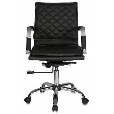 Офисное кресло Бюрократ черный CH-991-LOW/BLACK
