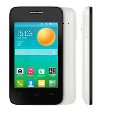 Смартфон Alcatel 4018D POP D1 White/Black 4018D-2FALRU1