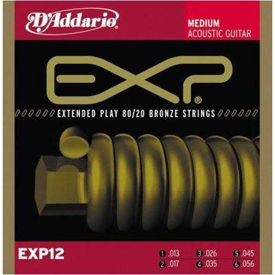 ������ D'Addario EXP12