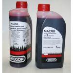 Oregon Масло 2-х тактное полусинтетическое (1:50, 1 л) красное 90720S