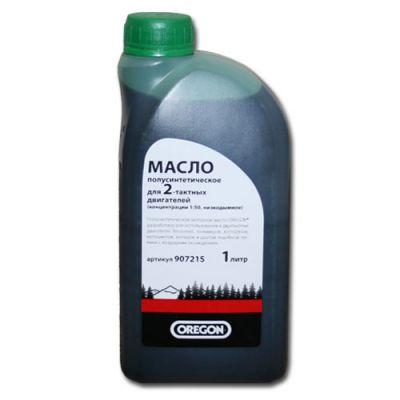 Oregon Масло 2-х тактное полусинтетическое (1:50, 1 л) зеленое 90721S